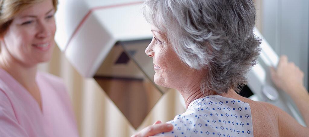 women over 70 mammogram